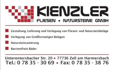 Mosaikleger Harmersbach, Kienzler GmbH, Fliesen Harmersbach